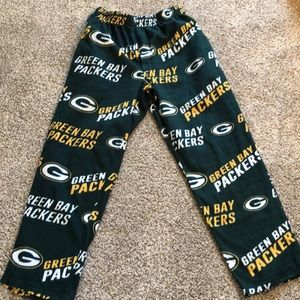 Green Bay Packers Fleece Pants